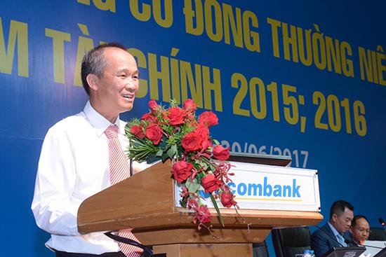 Ông Dương Công Minh, tân Chủ tịch HĐQT Sacombank.