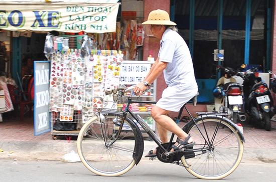 Những chiếc xe đạp cổ mang đến cảm giác vui thú, bình yên cho những người chơi xe.