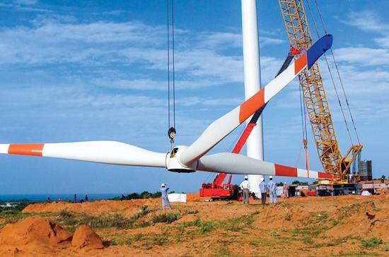 Doanh nghiệp điện gió phải nhập công nghệ, thiết bị từ nước ngoài nên chi phí đầu tư rất lớn.