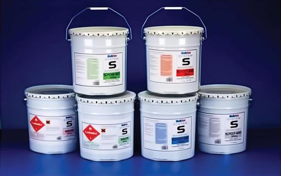 Một loại sơn chống cháy có bán trên thị trường.