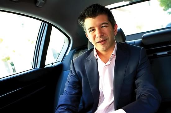 Nhà sáng lập Uber, ông Travis Kalanick.