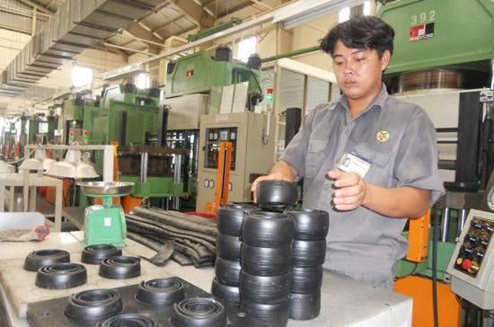 Công ty Cao su Thống Nhất (TPHCM) hiện đã trở thành nhà cung cấp sản phẩm công nghiệp hỗ trợ cho các đối tác lớn.