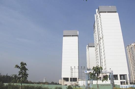 Dự án căn hộ PetroVietnam Landmark ở quận 2.  Ảnh: Mạnh Tùng