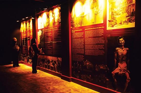 Bảo tàng thuốc phiện tại Thái Lan. Ảnh: T.A.T.