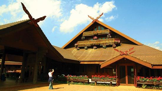 Biệt thự Hoàng gia Doi Tung. Ảnh: P.M.