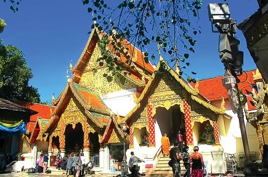 Chùa Phrathat Doi Suthep.