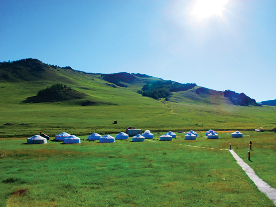 Ger là một kiểu nhà truyền thống của người Mông Cổ, đặc biệt khá phổ biến ở những nơi dân cư thưa thớt.