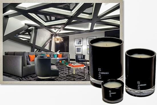 Nhà tạo mùi Le Labo tạo hương thơm cho chuỗi khách sạn Le Meridien.