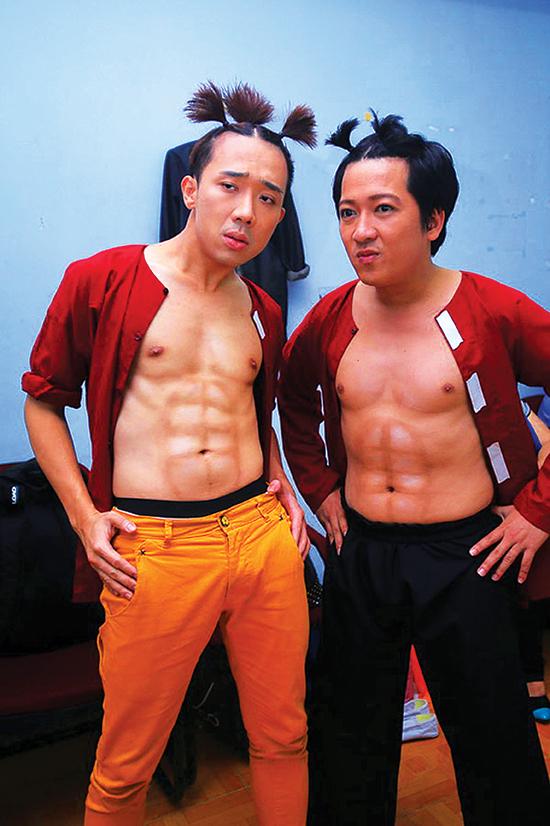 Những sao hài như Trấn Thành, Trường Giang đều nhanh chóng trở thành tỉ phú nhờ lượng sô hài dày đặc mỗi tuần trên truyền hình và thù lao hàng chục, hàng trăm triệu đồng/sô.