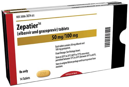 Zepatier,-thuốc-điều-trị-viêm-gan-siêu-vi-C-mới-của-hãng-dược-phẩm-Merck.-Ảnh-Multivu