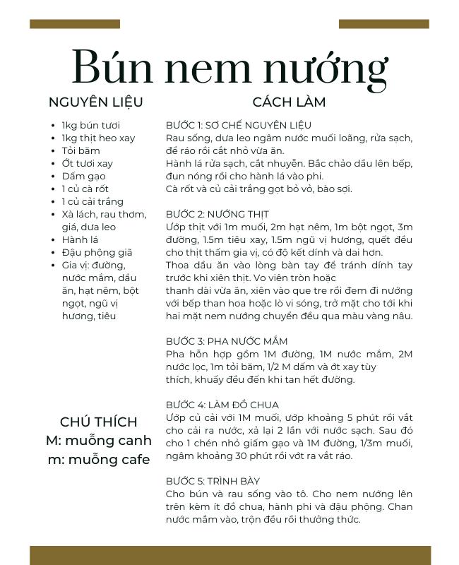 Trưa nay ăn gì: bún nem nướng giản dị ngày đầu tuần – Sài Gòn Tiếp Thị